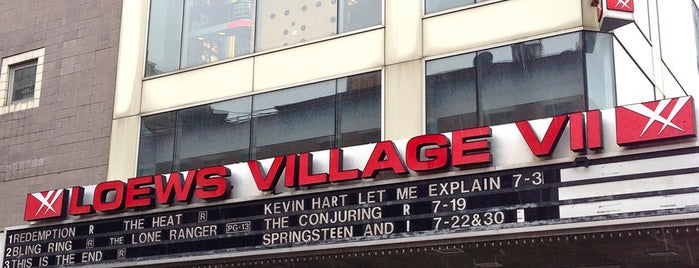 AMC Loews Village 7 is one of Zoetrope ( Worldwide ).