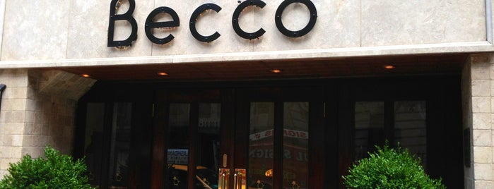 Becco is one of NYC.