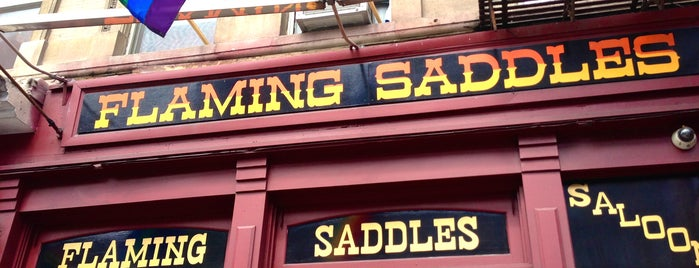 Flaming Saddles Saloon is one of My Definitive NYC Bar List.