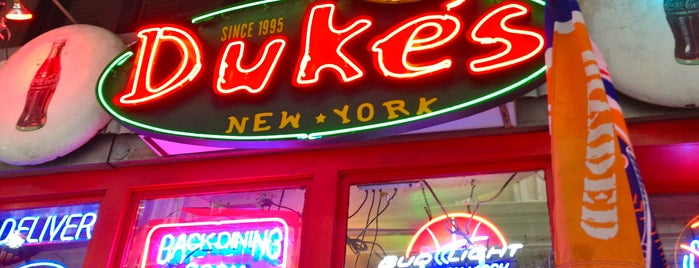 Duke's is one of NYC grub.
