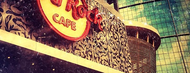 Hard Rock Café is one of dubai.