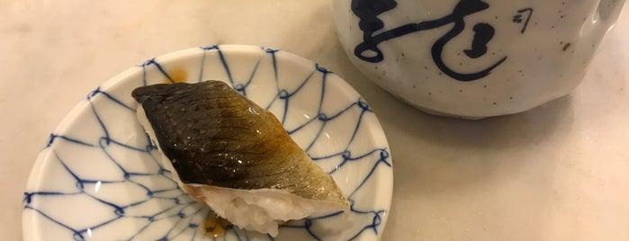 龍寿司 is one of lieu a Tokyo 2.