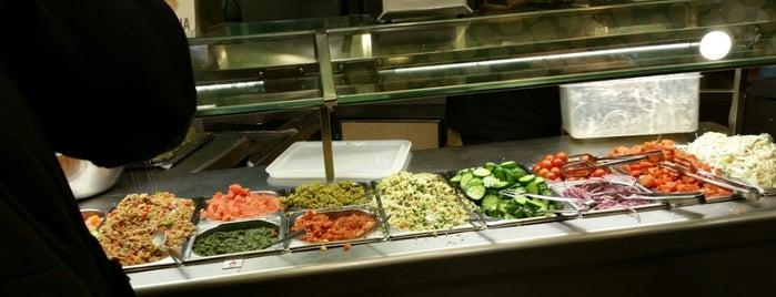 Maoz Vegetarian is one of Bars & Restaurants, II.