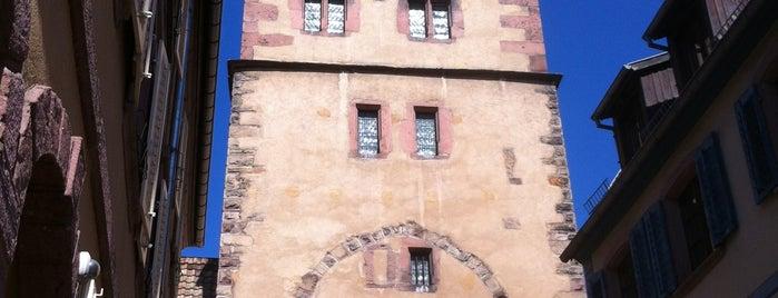 Tour des Bouchers is one of Tours d'Alsace.