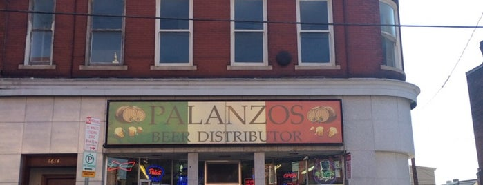 Palanzo's Beer Distributor is one of Favorites.