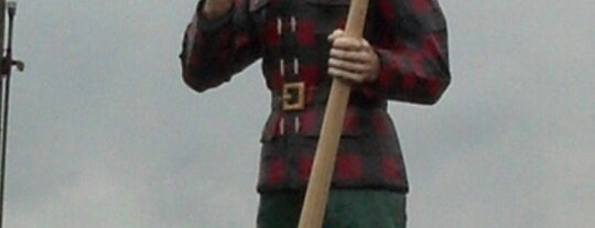 Paul Bunyan Statue is one of Future Travels.