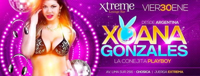 Xtreme Lounge Bar is one of Route with more Hot Lingerie parades in Lima.
