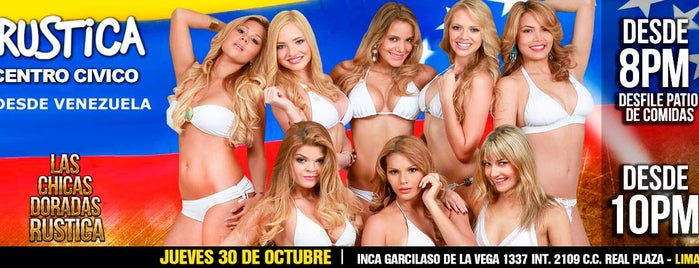 Rústica is one of Route with more Hot Lingerie parades in Lima.