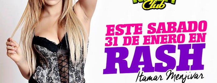 Rash Club is one of Route with more Hot Lingerie parades in Lima.