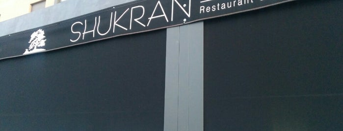 Shukran is one of Comer en Madrid.