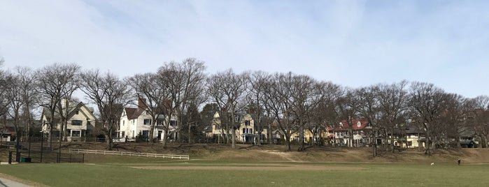 Amory Park is one of Guide to Brookline's best spots.