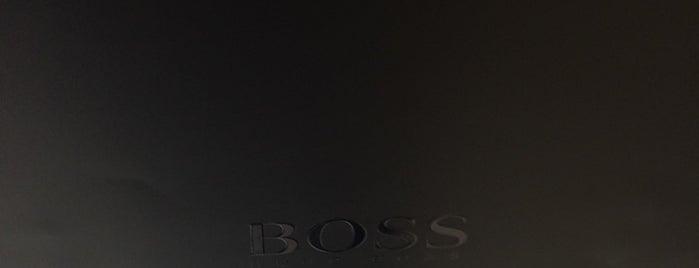 Hugo Boss is one of Tiendas en PLAZA.