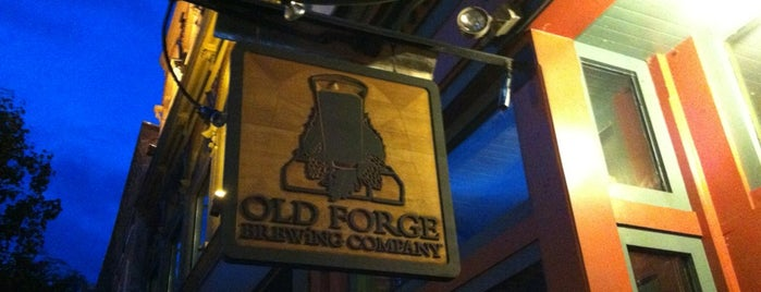 Old Forge Brewing Company is one of Pubs Breweries and Restaurants.