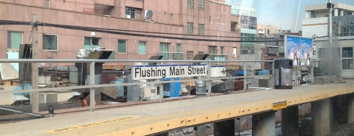 LIRR - Flushing-Main Street Station is one of Flushing.