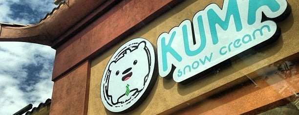 Kuma Snow Cream is one of Vegas.