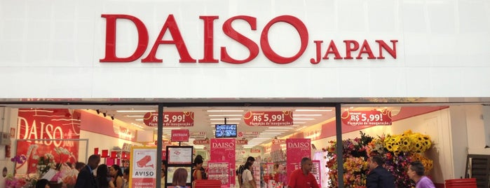 Daiso Japan is one of preferidos.