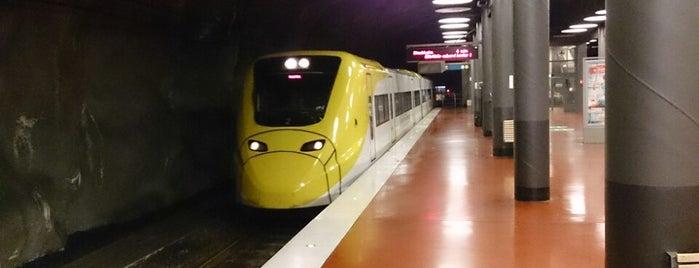 Arlanda Express (Arlanda N) is one of Tågstationer - Sverige.