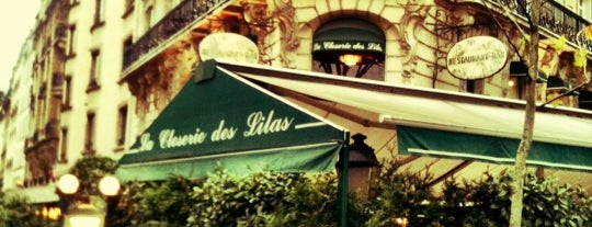 La Closerie des Lilas is one of J'Aime Paris.