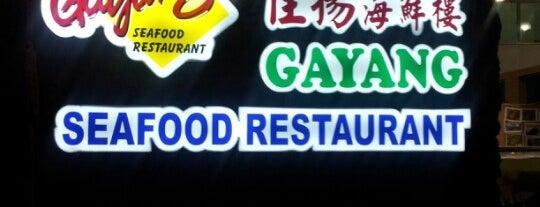 Gayang Seafood Restaurant 佳揚海鮮樓 is one of @Sabah, Malaysia.