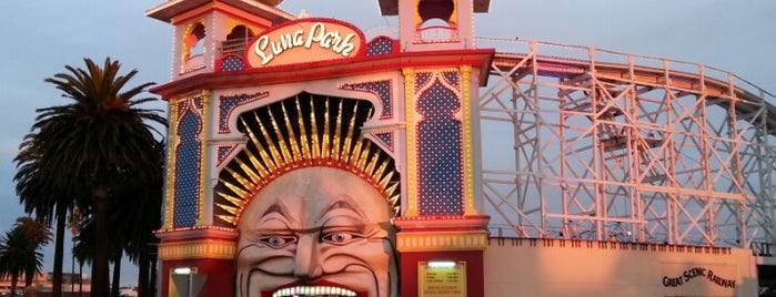 Luna Park Melbourne is one of Place in melbourne.
