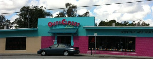 Out of the Closet Thrift Store is one of Gayborhood #FortLauderdale #WiltonManors.