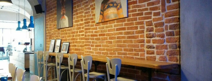 Fitagain Café is one of The 15 Best Cozy Places in Krakow.