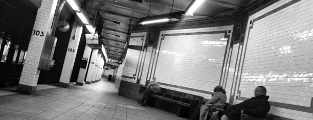 MTA Subway - 103rd St (1) is one of MTA Subway 1 Train.