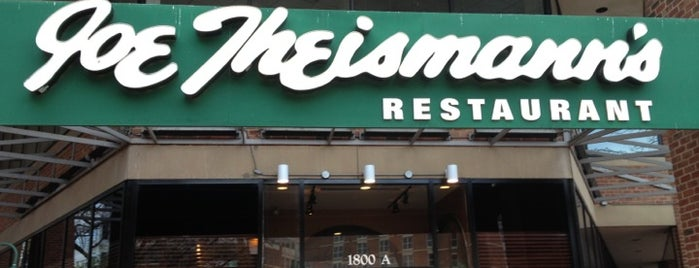 Joe Theismann's Restaurant is one of Favorite Food.