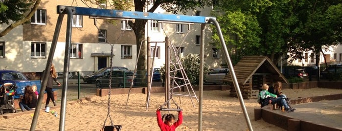 Spielplatz Wönnich / Sophien is one of Berlin.