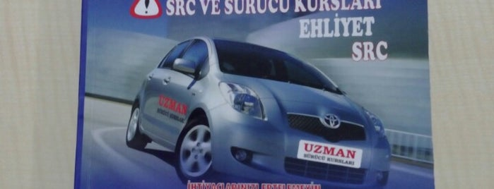 Uzman Sürücü Kursu is one of Eskişehir Sürücü Kursları.