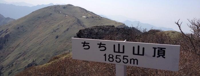 ちち山 is one of 四国の山.