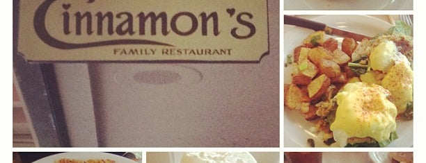 Cinnamon's Restaurant is one of Go to places.
