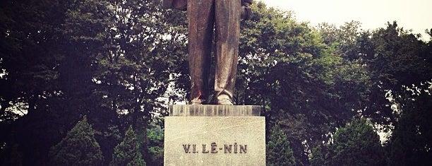 Công Viên Lê Nin (Lenin Park) is one of Địa điểm phải tới khi ở Hà Nội.