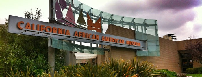 California African American Museum is one of Cool things to see and do in Los Angeles.