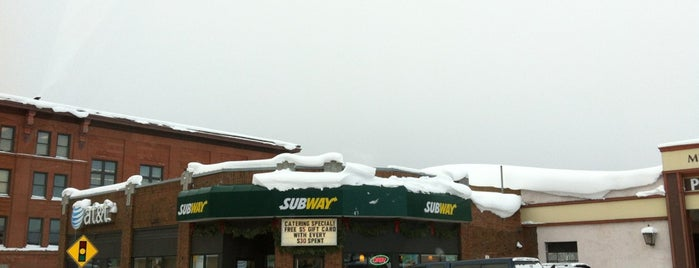 SUBWAY is one of Restraunts.