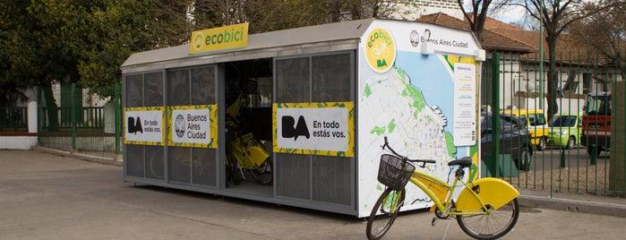 Estación 29 - Parque Centenario [Ecobici] is one of Estaciones de Ecobici de la Ciudad de Buenos Aires.