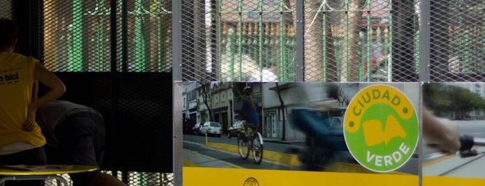 Estación 23 - Suipacha [Ecobici] is one of Estaciones de Ecobici de la Ciudad de Buenos Aires.