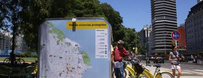 Estaciones de Ecobici de la Ciudad de Buenos Aires