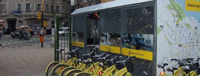 Estación 183 - Virrey Cevallos [Ecobici] is one of Estaciones de Ecobici de la Ciudad de Buenos Aires.