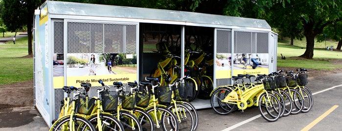 Estación 6 - Parque Lezama [Ecobici] is one of Estaciones de Ecobici de la Ciudad de Buenos Aires.