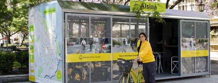 Estación 24 - Alsina [Ecobici] is one of Estaciones de Ecobici de la Ciudad de Buenos Aires.