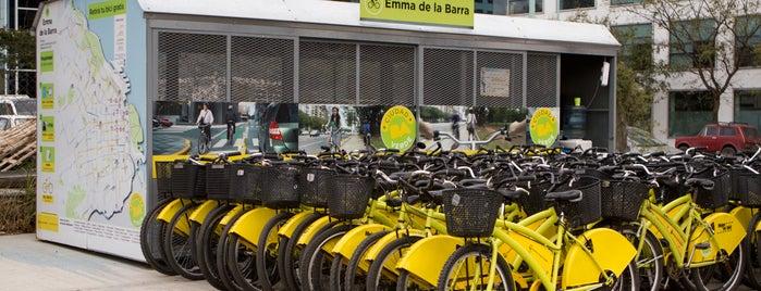 Estación Emma de la Barra [Ecobici] is one of Estaciones de Ecobici de la Ciudad de Buenos Aires.