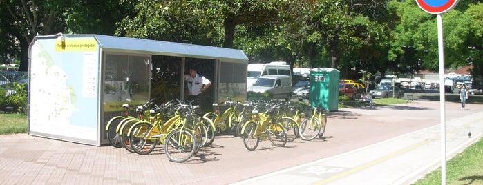 Estación 2 - Aduana [Ecobici] is one of Estaciones de Ecobici de la Ciudad de Buenos Aires.