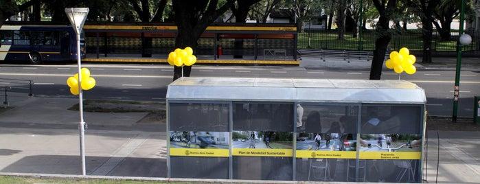 Estación 14 - Pacífico [Ecobici] is one of Estaciones de Ecobici de la Ciudad de Buenos Aires.