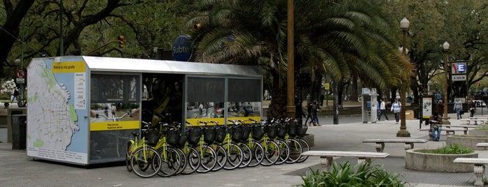 Estación Plaza San Martín [Ecobici] is one of Estaciones de Ecobici de la Ciudad de Buenos Aires.