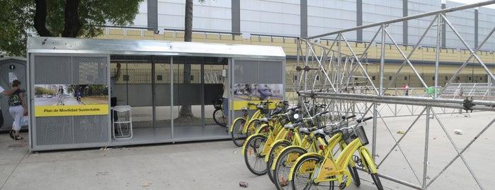 Estación 5 - Plaza Italia [Ecobici] is one of Estaciones de Ecobici de la Ciudad de Buenos Aires.
