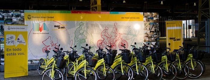 Estación 20 - Distrito Audiovisual [Ecobici] is one of Estaciones de Ecobici de la Ciudad de Buenos Aires.