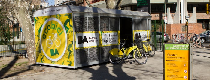 Estación 119 - Emilio Mitre [Ecobici] is one of Estaciones de Ecobici de la Ciudad de Buenos Aires.