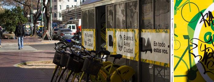 Estación 27 - Montevideo [Ecobici] is one of Estaciones de Ecobici de la Ciudad de Buenos Aires.