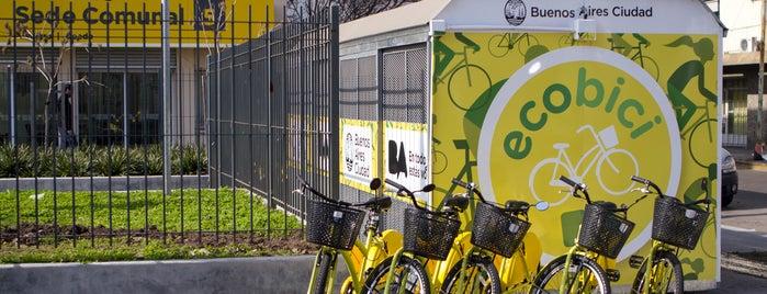 Estación 28 - Plaza Boedo [Ecobici] is one of Estaciones de Ecobici de la Ciudad de Buenos Aires.